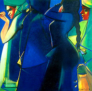 Painting by Paresh Maity