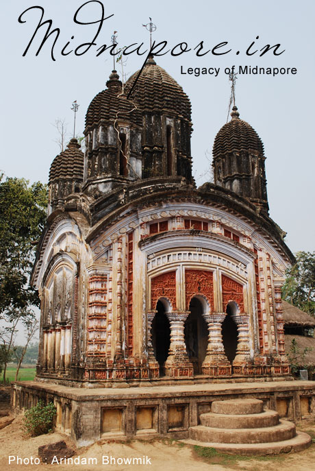 A temple in Anandapur