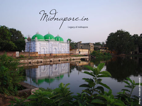 Masjid in Midnapore town.