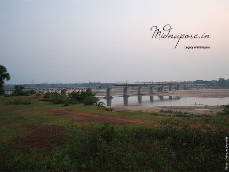 Railway Bridge on Kangsabati River